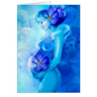 Karten-glückliche Schwangerschaft Grußkarte