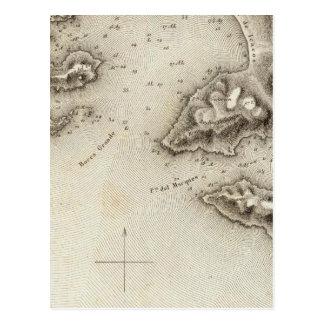 Karten-Hafen von Acapulco Postkarte