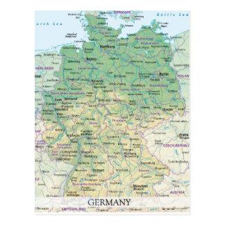 KARTEN-POSTKARTEN ♥ Deutschland 2 Postkarte
