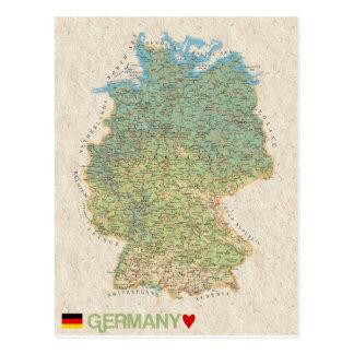 KARTEN-POSTKARTEN ♥ Deutschland Postkarte