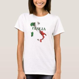 Karten-T - Shirt der Damen-Italien