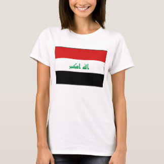 Karten-T - Shirt der Irak-Flaggen-x