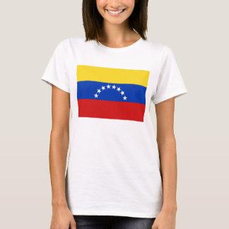 Karten-T - Shirt Venezuela-Flaggen-x