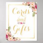 Karten-und der Geschenk-| Poster