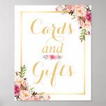 Karten-und der Geschenk-  Poster