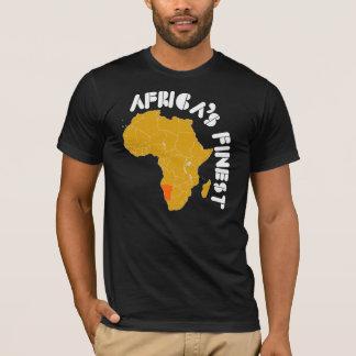 Kartenentwurf Namibias, Afrika T-Shirt