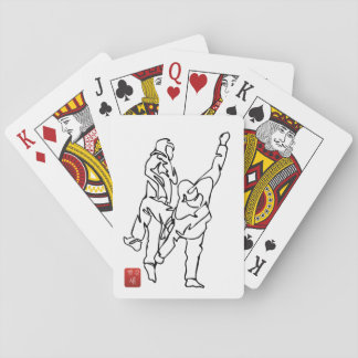 Kartenspiel TAEKWONDO BRINGT aus dem Gleichgewicht Spielkarten