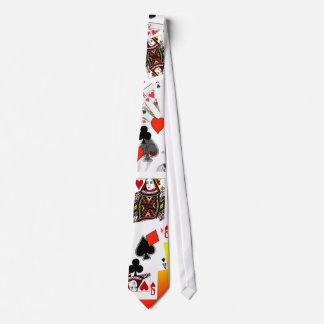 Kartenspieler-Krawatte!  Anruf! Krawatte