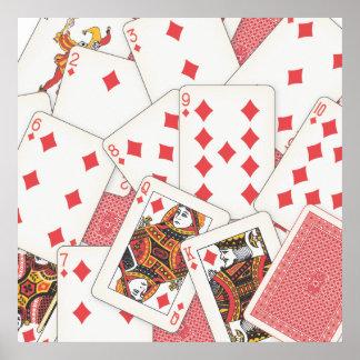 Kartenstapeles Poster