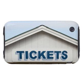 Kartenzeichen auf Gebäude iPhone 3 Tough Hüllen