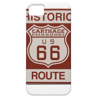 Karthago-Weg 66 iPhone 5 Cover