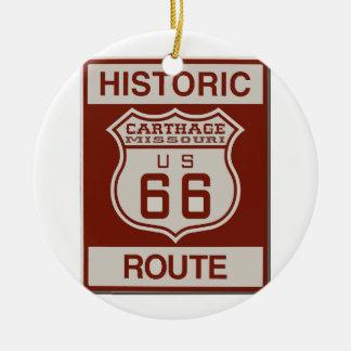Karthago-Weg 66 Keramik Ornament