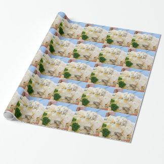 Kartoffelsalat mit Wurst und Senf Geschenkpapier