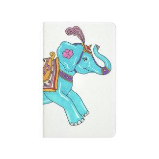 Karussell-Elefantnotizbuch Taschennotizbuch