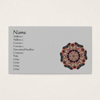 Karussell-PferdeKaleidoskop-Visitenkarte Visitenkarte