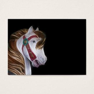 Karussell-Pferdekopf Visitenkarte