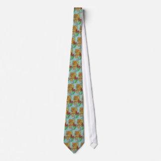 Karussell-Seelöwe-Hippokamp-Fantasie-Kunst Krawatte
