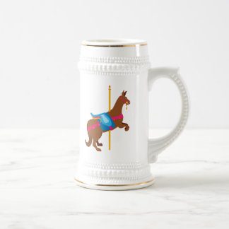 Karussell-Tier-Känguru Bierglas