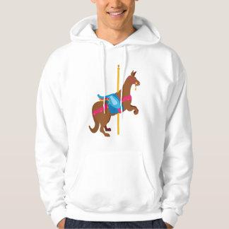 Karussell-Tier-Känguru Hoodie