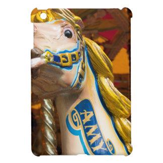 Karussellpferd auf fröhlichem goround iPad mini hülle