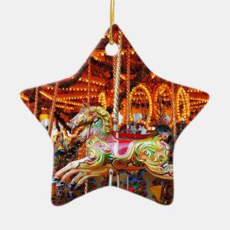 Karusselschlauchentwurf Keramik Stern-Ornament