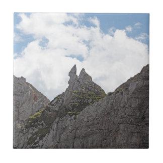 Karwendel Strecke in den bayerischen Alpen Keramikfliese