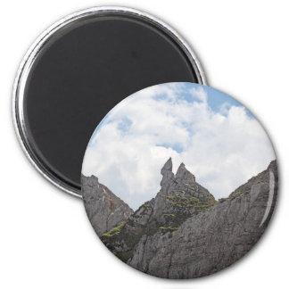 Karwendel Strecke in den bayerischen Alpen Runder Magnet 5,7 Cm
