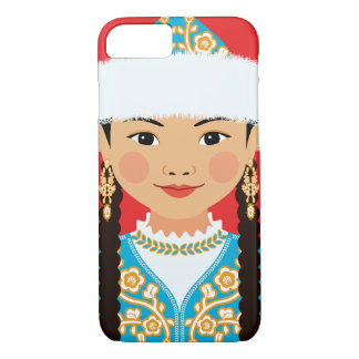 Kasachischer Matryoshka Fall iPhone 8/7 Hülle