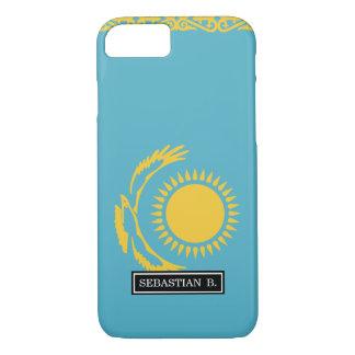 Kasachstan-Flagge iPhone 8/7 Hülle