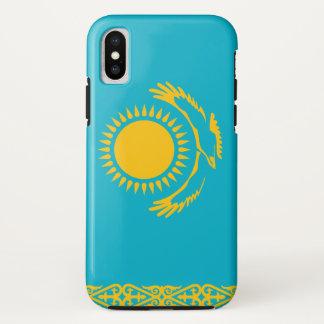 Kasachstan-Flagge iPhone X Hülle