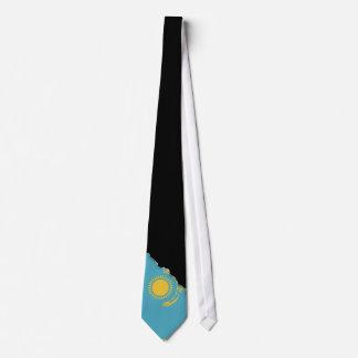 Kasachstan-Flagge Krawatte
