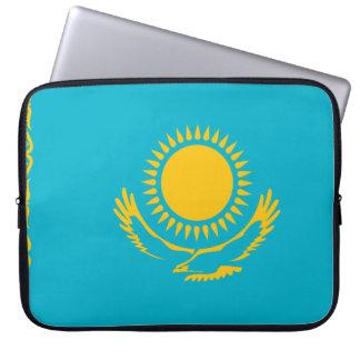 Kasachstan-Flagge Laptop Sleeve