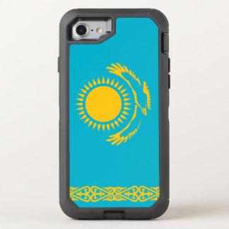 Kasachstan-Flagge OtterBox Defender iPhone 8/7 Hülle