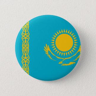 Kasachstan-Flagge Runder Button 5,7 Cm