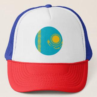 Kasachstan-Flagge Truckerkappe