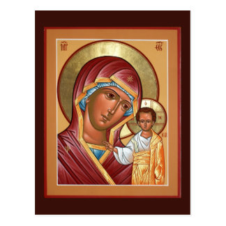 Kasan-Mutter der Gott-Gebets-Karte Postkarte
