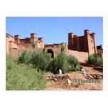 Kasbah in AIT Ben Haddou, Marokko