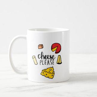 Käse bitte kaffeetasse