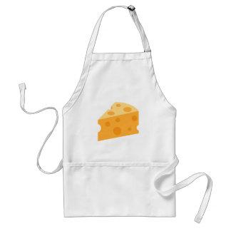 Käse-Keil Emoji Schürze