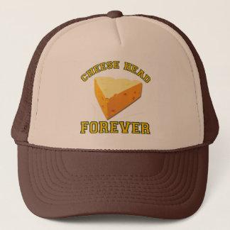 Käse-Kopf für immer Truckerkappe