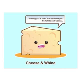 Käse und Gejammer Postkarte