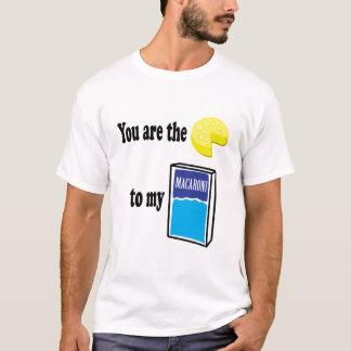Käse zu meinem Makkaroni T-Shirt