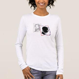 Kaserne Obama und Abraham Lincoln Langarm T-Shirt