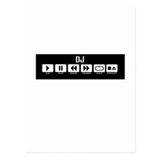 Kasettenrekorder - DJ Postkarte