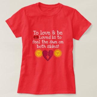 Kashani Liebe-grundlegender T - Shirt