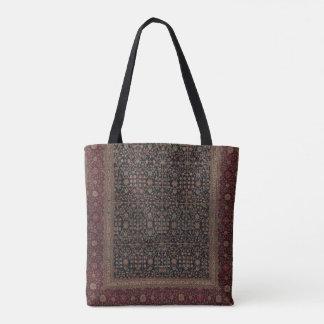 Kashmiri Millefleur Teppich-Tasche Tasche