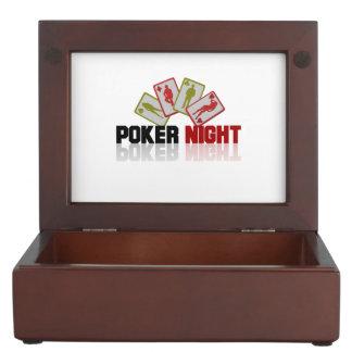 Kasino-Poker Erinnerungsdose