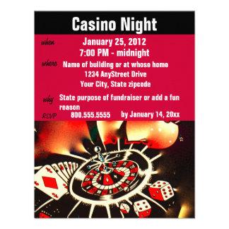 Kasino-Poker-NachtParty Ankündigungen