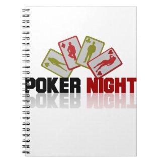 Kasino-Poker Notizblock