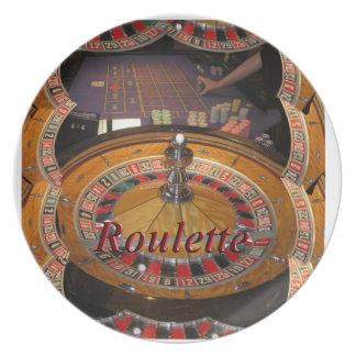 Kasino-Rouletterad-Montage Teller
